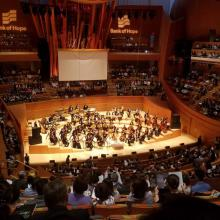 Orquesta Colburn en Disney Hall