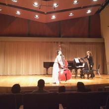 Mikyung Sung and Eloise Kim, Thayer Hall, The Colburn School