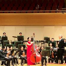 Mikyung Sung with Gum Nanse and the Seongnam Philharamonic Orchestra April 2019