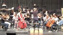 Mikyung Sung with Ludovic Morlot and the Colburn Orchstra