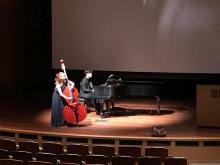 Mikyung Sung e Jaemin Shin si scaldano a Rothenberg Hall, l'Huntington
