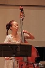 Mikyung Sung performing at the 745th The House Concert
