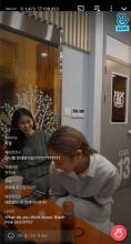 Da-i Jung and Mikyung Sung in livestream