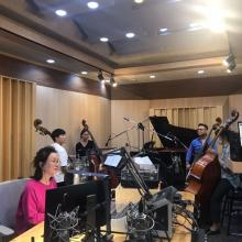 Mikyung Sung with Double Bass Quartet on KBS Classic FM Music Room